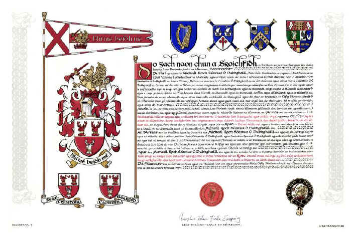 The Doyle Grant of Arms
